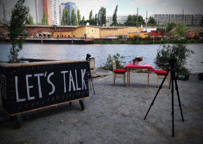 Let's Talk: 30 Days at The SpreeFeld